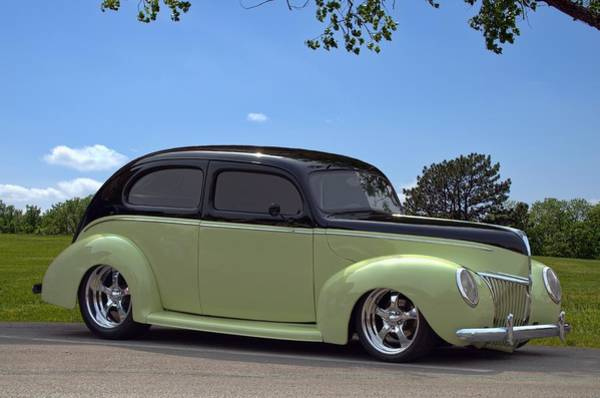 Photograph - 1939 Ford Sedan Hot Rod by Tim McCullough