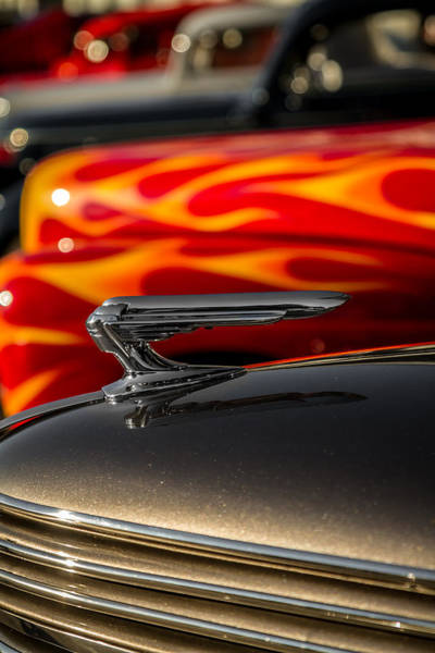 Photograph - 1939 Graham Coupe Hood Ornament by Ron Pate