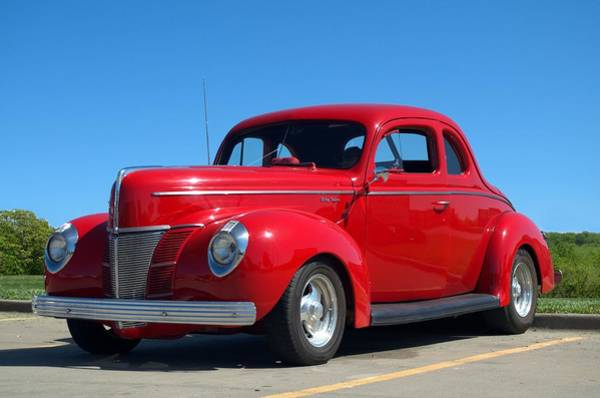 Photograph - 1940 Ford Coupe Hot Rod by Tim McCullough