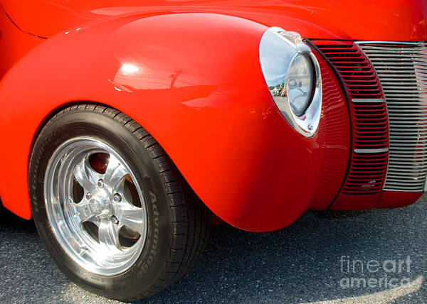 Photograph - 1940 Ford Coupe by Mark Dodd