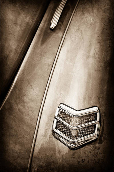 1940 Ford Coupe Photograph - 1940 Ford Deluxe Coupe Taillight by Jill Reger