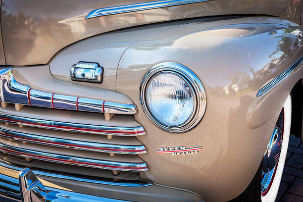 1940 Ford Coupe Photograph - 1946 Ford Super Deluxe Coupe  by Rich Franco