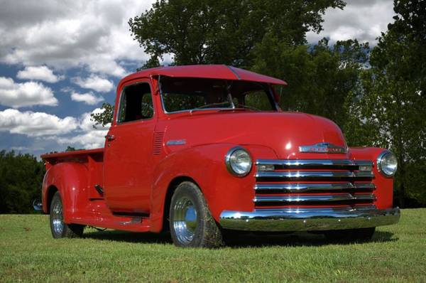 Photograph - 1948 Chevrolet Pickup Truck by Tim McCullough