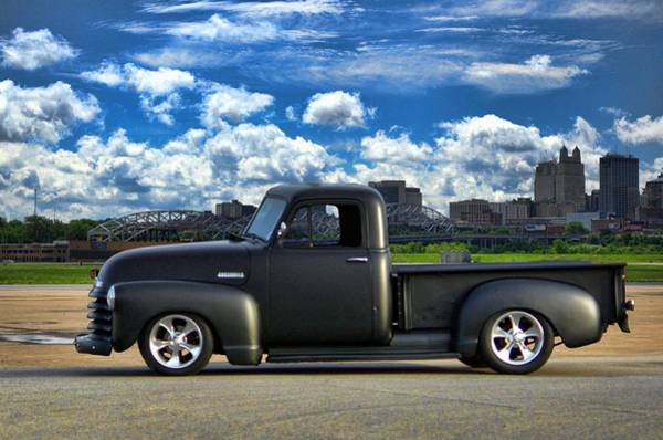Photograph - 1952 Chevrolet Pickup Truck by Tim McCullough