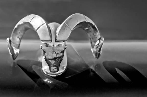 Photograph - 1952 Dodge Ram Hood Ornament by Jill Reger
