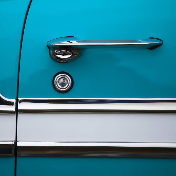 50s Wall Art - Photograph - 1956 Chevrolet Bel Air by Carol Leigh