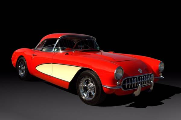 Photograph - 1956 Corvette by Tim McCullough