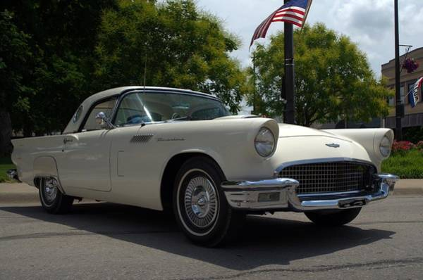 Photograph - 1957 Thunderbird by Tim McCullough