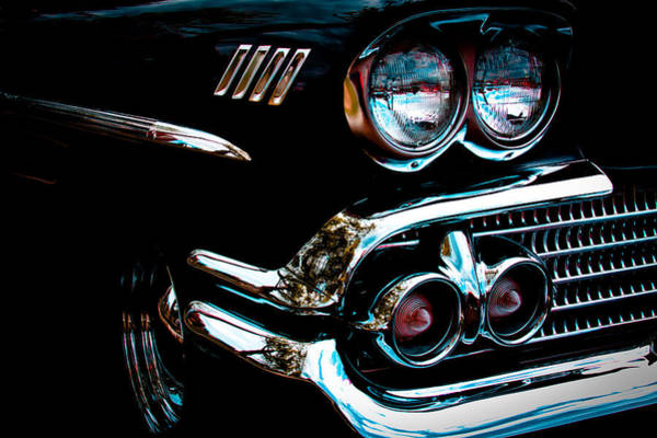 Photograph - 1958 Chevy Bel Air by David Patterson