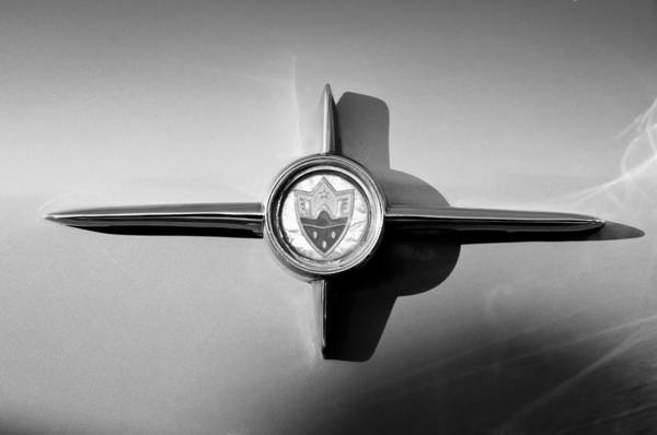 Photograph - 1958 Oldsmobile 98 Emblem by Jill Reger