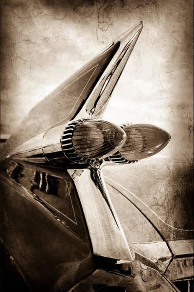 Tail Light Photograph - 1959 Cadillac Eldorado Taillight by Jill Reger