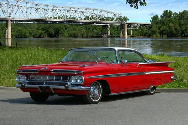 Photograph - 1959 Chevrolet Impala by Tim McCullough