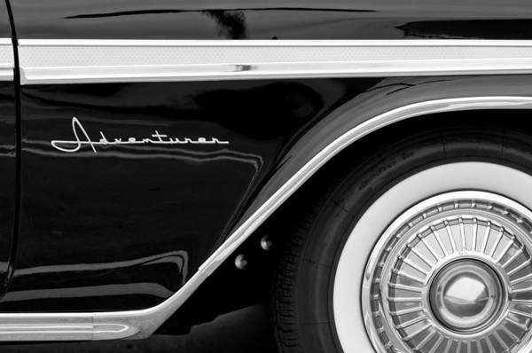 Photograph - 1959 Desoto Adventurer Convertible Wheel by Jill Reger