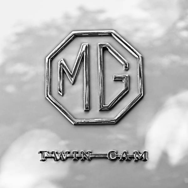 Photograph - 1959 Mg A Twin-cam Coupe Emblem by Jill Reger