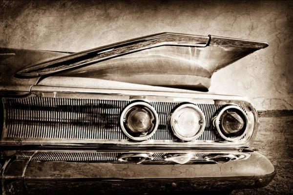 Impala Photograph - 1960 Chevrolet Impala Resto Rod Taillight by Jill Reger