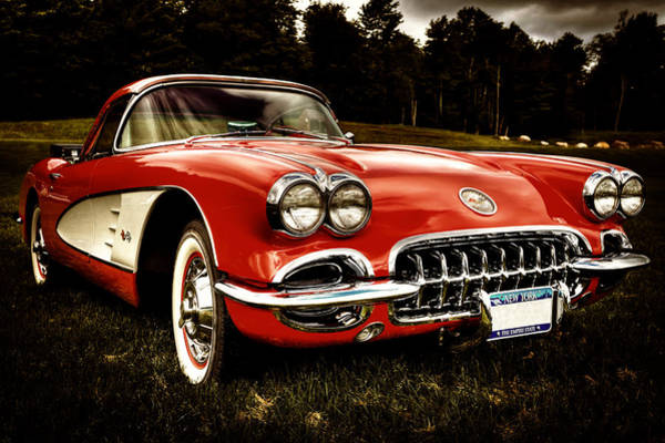 Photograph - 1960 Chevy Corvette by David Patterson