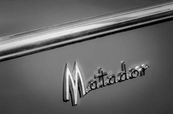 Matador Wall Art - Photograph - 1960 Dodge Matador Emblem by Jill Reger