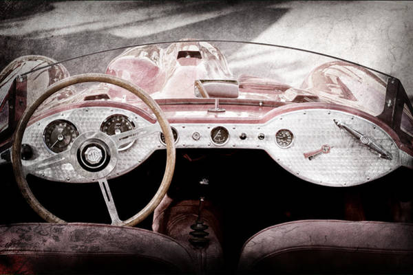 Photograph - 1962 Devin-mga Supercharged Roadster by Jill Reger