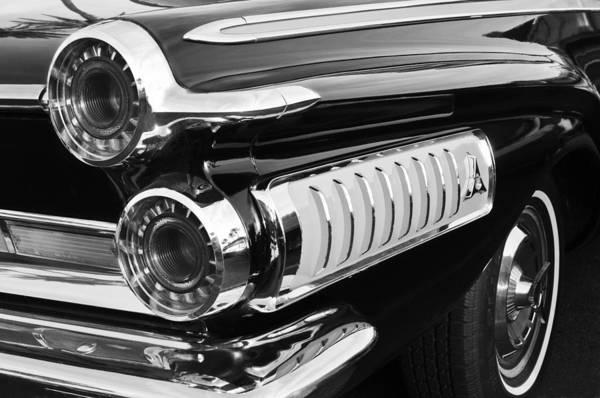 Photograph - 1962 Dodge Polara 500 Taillights by Jill Reger