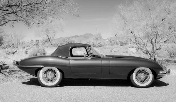 Photograph - 1963 Jaguar Xke Roadster by Jill Reger