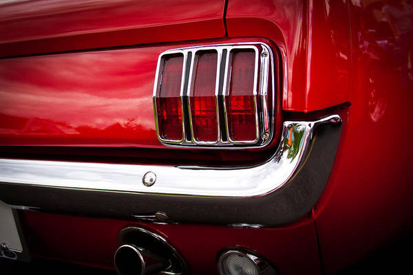 David Patterson Photograph - 1966 Ford Mustang by David Patterson