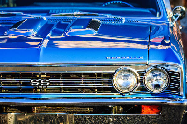 Super Cars Photograph - 1967 Chevrolet Chevelle Super Sport  by Jill Reger