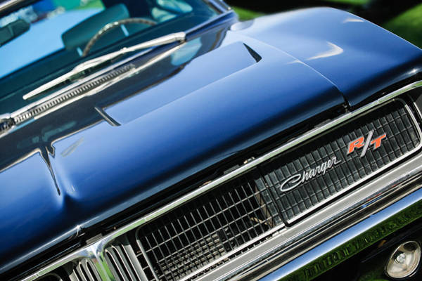 Photograph - 1969 Dodge Charger R-t Emblem by Jill Reger