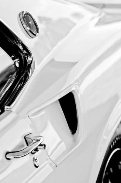 Photograph - 1969 Ford Mustang Boss 429 Emblem by Jill Reger