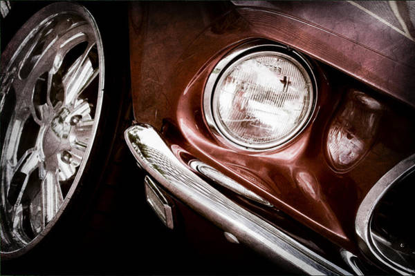 Photograph - 1969 Ford Mustang Mach 1 Front End by Jill Reger