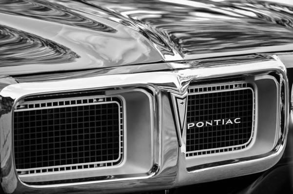 1969 Pontiac Firebird Photograph - 1969 Pontiac Firebird 400 Grille by Jill Reger