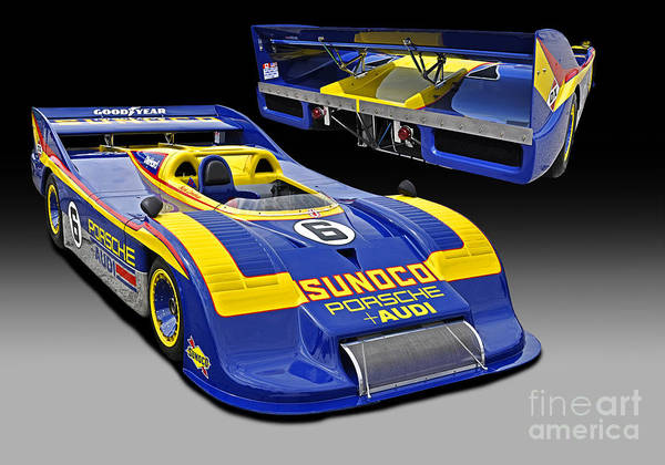 Autosport Wall Art - Photograph - 1973 Porsche 917-30 Race Car by Tad Gage