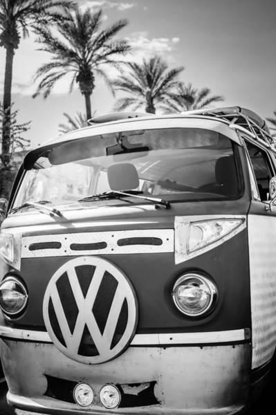 Photograph - 1979 Volkswagen Vw Bus Emblem by Jill Reger