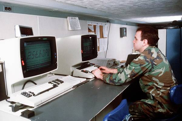 Wall Art - Photograph - 1980s Military Computing by Us Air Force