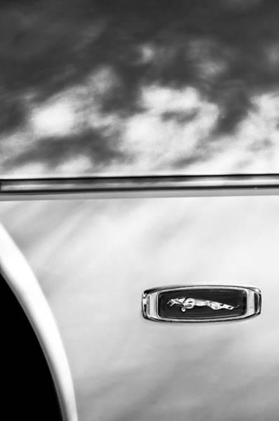 Photograph - 1995 Jaguar Emblem by Jill Reger
