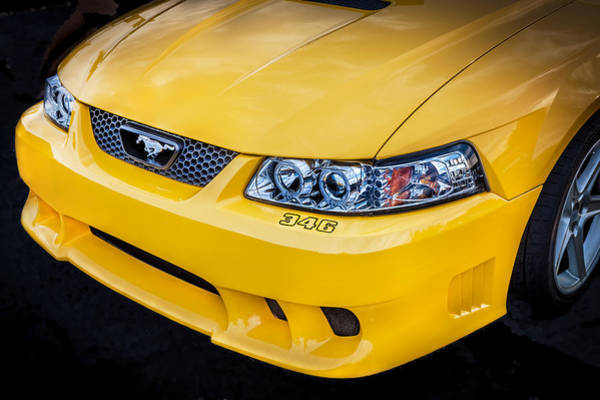 Photograph - 1999 Ford Saleen Mustang  by Rich Franco