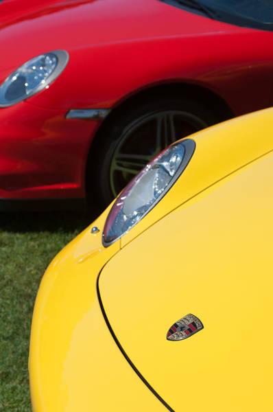 Photograph - 2004 Porsche Carrera Gt Hoods - 3 by Jill Reger