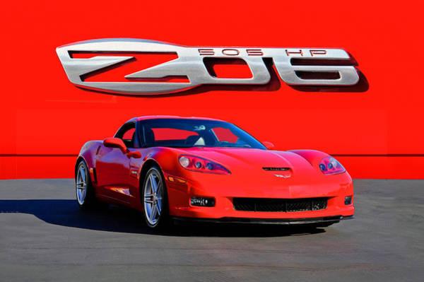 Wall Art - Photograph - 2006 Corvette Z06 427 by Dave Koontz
