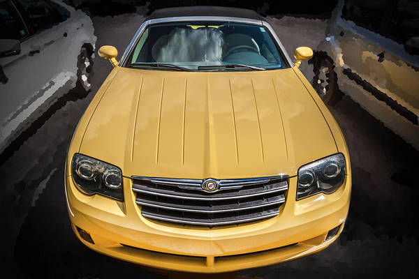 Street Racer Photograph - 2008 Chrysler Crossfire Convertible  by Rich Franco