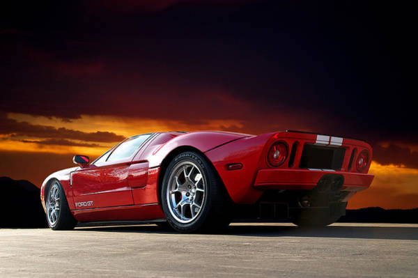 Wall Art - Photograph - 2011 Ford Gt IIi by Dave Koontz
