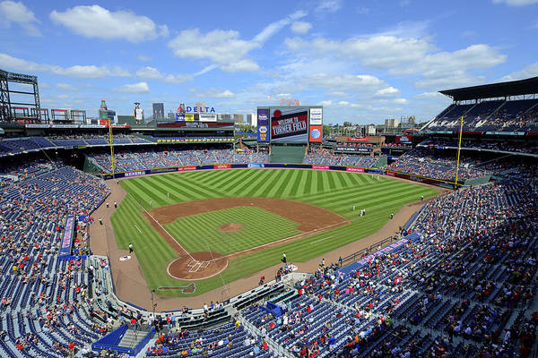 Photograph - 2013 Turner Field by Mark Whitt