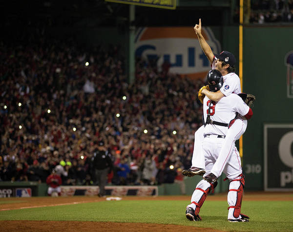 Major League Baseball Photograph - 2013 World Series Game 6 St. Louis by Brad Mangin
