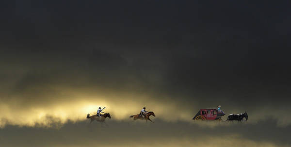 Stagecoach Photograph - 2984 by Peter Holme III