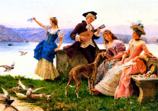 Outing Photograph - A Days Outing by Federico Andreotti