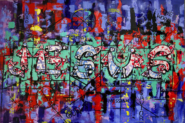 Painting - Above All Names by Anthony Falbo