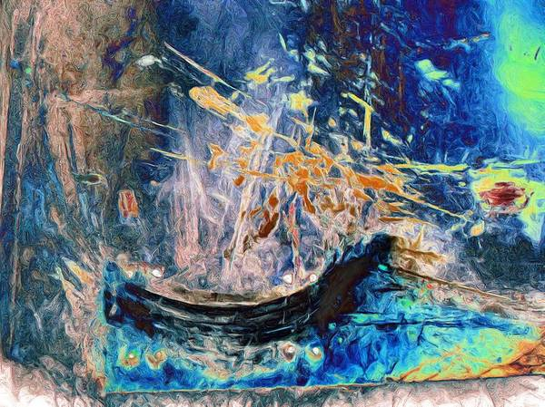 Shipwreck Digital Art - Abstract 13 by Tom Druin
