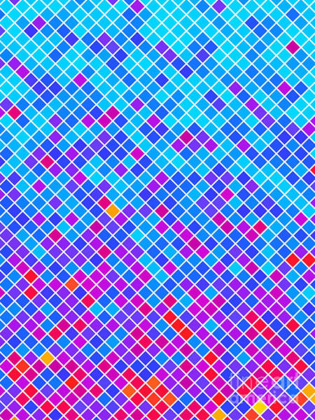 Simple Digital Art - Abstract Background, Vector Without by Gala