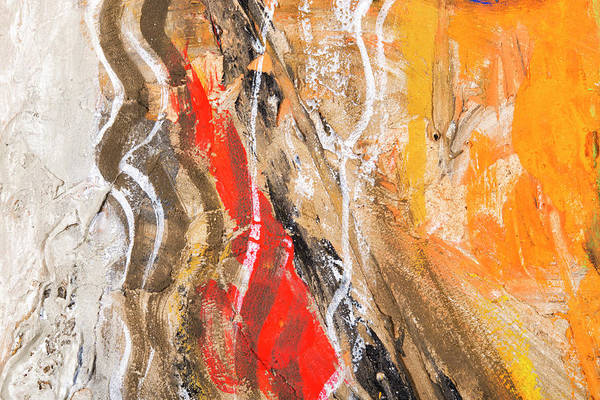 Horizontal Abstract Photograph - Abstract Painting Background by Gm Stock Films