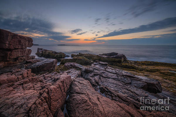 Michael Photograph - Acadia Rocky Sunrise by Michael Ver Sprill