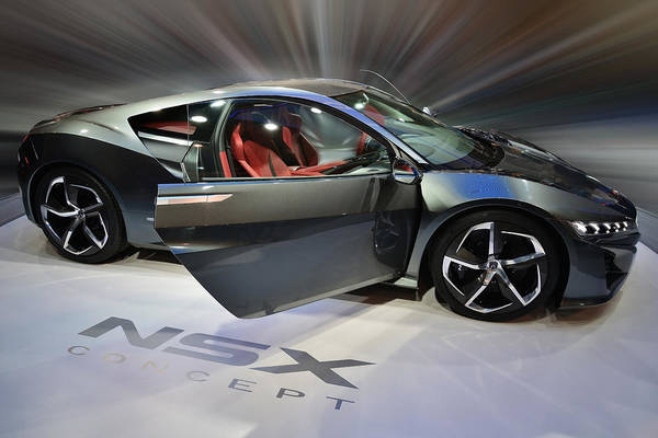 Photograph - Acura Nsx Hybrid 2013 by Dragan Kudjerski