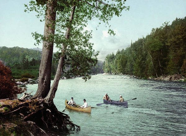 Adirondack Mountains Painting - Adirondacks, C1902 by Granger